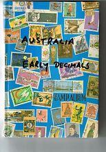STAMP ALBUM (2nd one) - Australian Decimal Stamps Birkdale Redland Area Preview