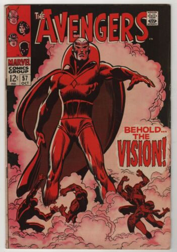Avengers 57 (1968 Marvel) FN Condition 1st Vision Appearance