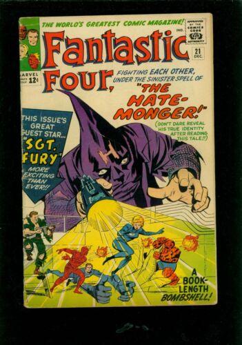 Fantastic Four 21 VG 4.0
