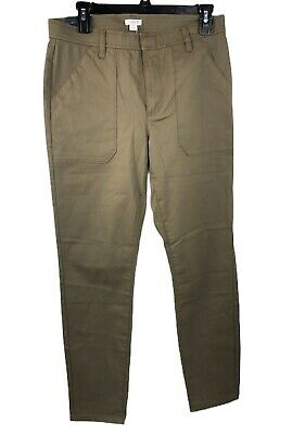 J. Crew Women's Hi-Rise Skinny Ankle Pants Style H5157 Size 28 NWT