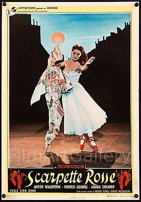 RED SHOES 1949 original Italian poster ballet Powell Pressburger filmartgallery
