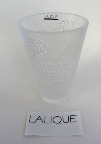 Lalique SMALL Ombelles Ombelle Crystal Vase France NEW