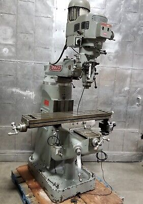 Comet Vertical Mill Milling Machine 3 Hp Bridgeport Style Variable Speed
