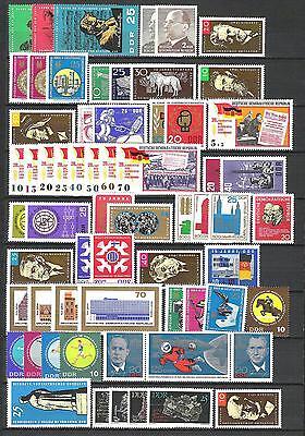 DDR 1965 kompletter Jahrgang MiNr. 1084 - 1153 postfrisch