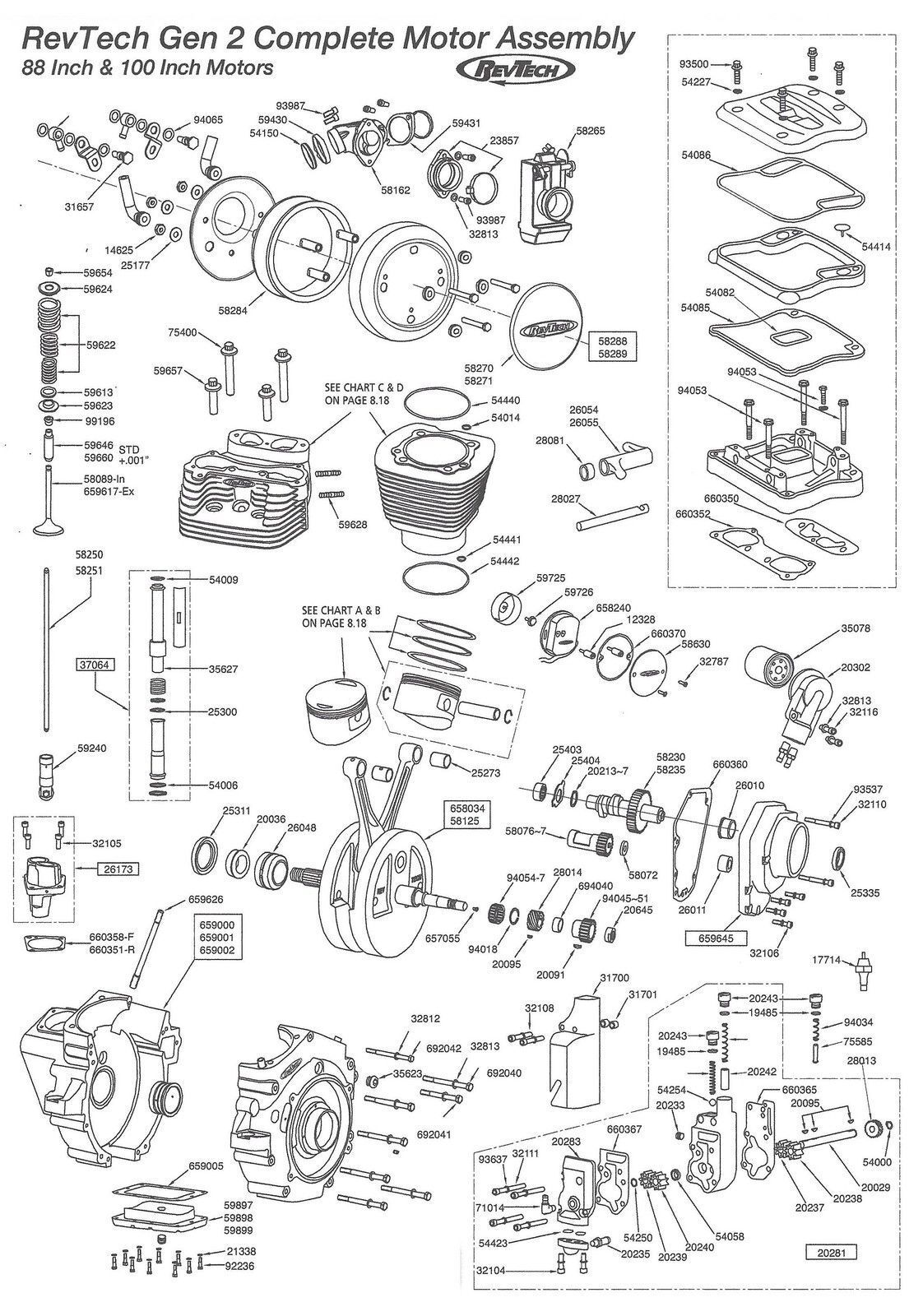 Revtech 100 Engine Wiring Diagram Schematic Diagrams Ignition Crankshaft Assembly House