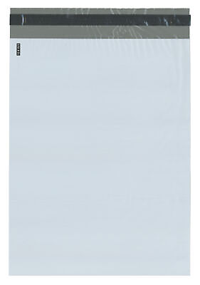 Plymor Poly Mailer Whitegray Bag W Closure And Strip 12 X 15.5 Cse Of 500