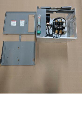 SQUARE D MODEL 6 60 AMP FUSIBLE FUSED FEEDER BUCKET MCC MCCB