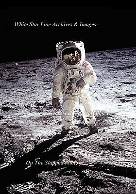 APOLLO 8 ASTRONAUT FRANK BORMAN IN SPACESUIT 8x10 SILVER HALIDE PHOTO PRINT