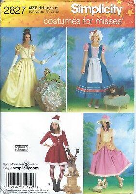 Simplicity 2827 HALLOWEEN COSTUME Pattern ~ NURSERY RHYME for Adults & - Dog Halloween Costume Patterns