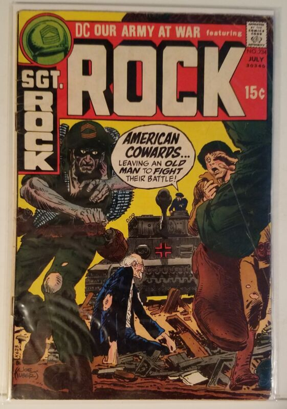 OUR ARMY AT WAR # 234 - SGT. ROCK - JULY 1971