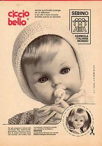 Pubblicità Advertising Werbung 1971 Ciccio Bello SEBINO - Monterotondo, Italia - NON RISPONDIAMO PER DANNI, SMARRIMENTI O FURTI CAUSATI DALLE POSTE O DAI CORRIERI LUNGO IL TRAGITTO DI SPEDIZIONE. POTETE USUFRUIRE DI ASSICURAZIONE CHE DOVRA' ESSERE CHIESTA E PAGATA OLTRE AL PREZZO GIA' CONCORDATO. NEL CASO L'OGGE - Monterotondo, Italia