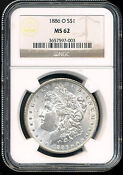 NGC 1886 O Morgan Dollar