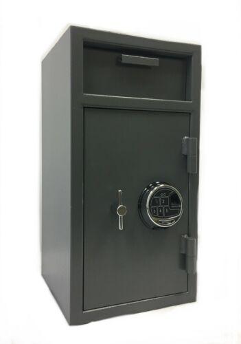 SOUTHEASTERN Cash Drop Slot Security Safe Biometric Lock with Back Up Key