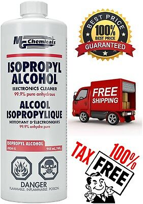 Mg Chemicals 99 Isopropyl Alcohol Liquid Cleaner Low Toxicity For Fiber Optics