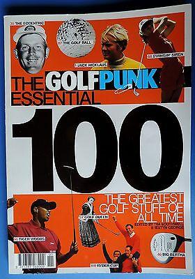 The Essential 100 - Golf Punk magazine Moe Norman Knudson  Palmer Donald Trump