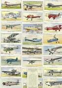Cigarette Card Sets