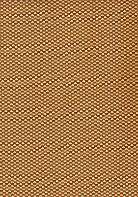 SPEAKER CLOTH Antique Radio Fabric Vintage Grill Repair #GB7 - Gold & Bronze REV