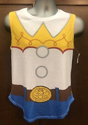 Toy Story Costume For Adults (DISNEY PARKS TOY STORY JESSIE COSTUME TUNIC T-SHIRT FOR WOMEN - MEDIUM)
