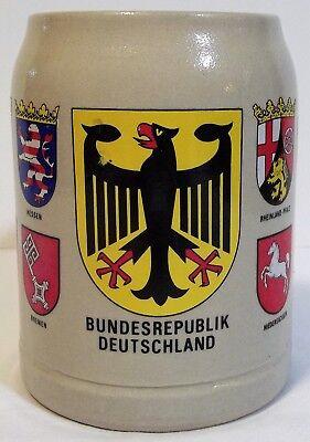 German beer stein, Oktoberfest ale mug, Bundesrepublik Deutschland 0.5 liter mug](Oktoberfest Mug)