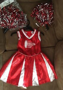 4T cheerleader costume