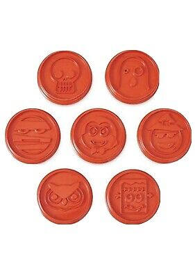 """PAMPERED CHEF """"Halloween Cookie Cutters"""" set of 7 New"""