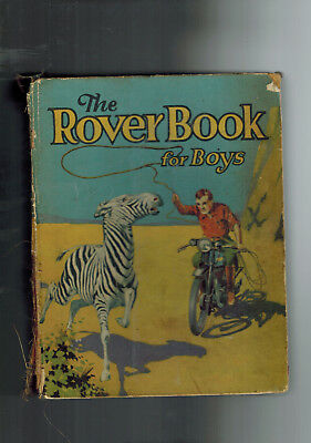 ROVER ANNUAL 1933 from Rover Comic - D. C. Thomson