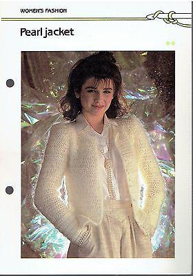 Шаблоны Pearl Jacket Crochet Pattern
