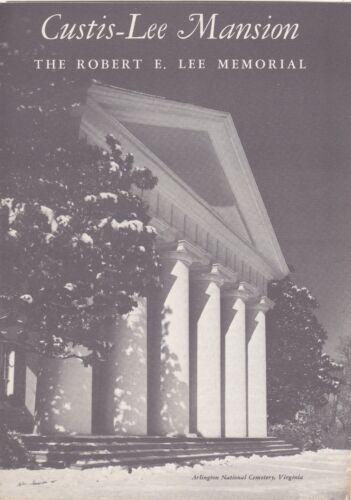 1962 The Robert E. Lee Memorial Arlington National Cemetery Brochure