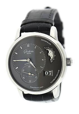 Glashutte Original Quintessential PanoMaticLunar Steel Watch 90-02-43-32-05