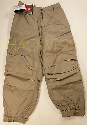 ECWCS Primaloft LEVEL 7 GEN III Trousers Cold Weather Pants PCU MEDIUM REG NEW!