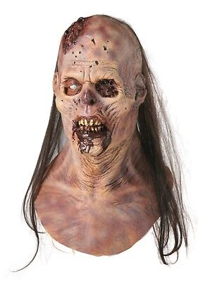 Halloween MAGGOT BUFFET ROTTING FLESH Latex Deluxe Mask Haunted House NEW