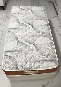Single ensemble bed and mattress, $120, free delivery