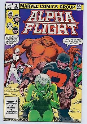 Alpha Flight 2 NM 9.4 Copper Age