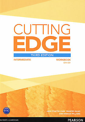 Pearson CUTTING EDGE Intermediate THIRD EDITION Workbook with Key @NEW@