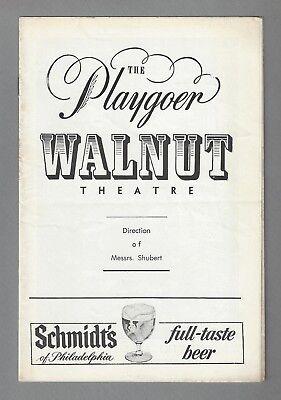 "Robert Redford ""SUNDAY IN NEW YORK"" Pat Stanley '61 Philadelphia Tryout Playbill"