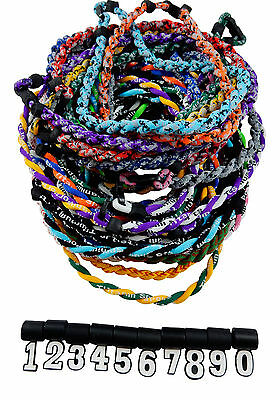 PICK YOUR NUMBER - Twisted Titanium Tornado Necklace Baseball Softball 39 Colors - Baseball Necklaces