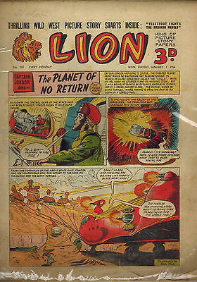 LION COMIC No. 203 and 208 from 1956 LOOK!