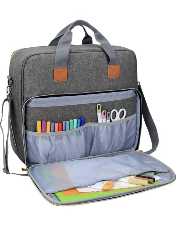 "LUXJA Carrying Case - Cricut Easy Press 2 (12"" x 10""), Tote Bag Co."