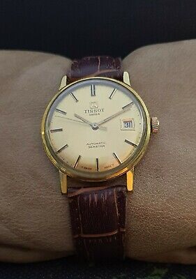TISSOT SEASTAR AUTOMATIC cal.784-2 GP VINTAGE 60's RARE 21J SWISS WATCH.