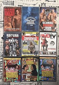 Various rare WWE DVDs (18 DVDs) Tullamarine Hume Area Preview