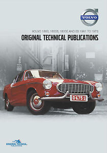 Volvo P1800 Parts & Service Manual DVD & More  (TP-51949)