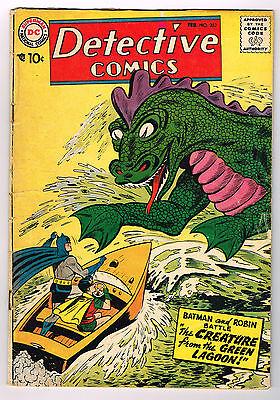 DETECTIVE COMICS # 252 silver age DC comic 1958 Batman & Robin