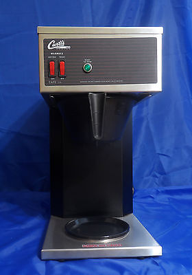 Wilbur Curtis Cafe2db10a000 Commercial Pourover Coffee Brewer 64 Oz 2 Station