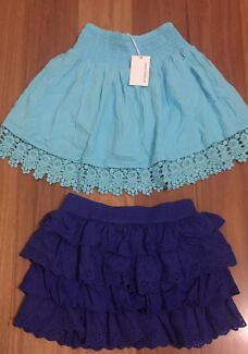 Bundle package girls skirts size 8
