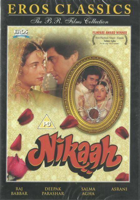 NIKAAH - RAJ BABBAR - ASRANI - NEW ORIGINAL BOLLYWOOD DVD - FREE UK POST