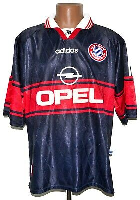 BAYERN MUNCHEN 1997/1998/1999 HOME FOOTBALL SHIRT JERSEY ADIDAS SIZE XL ADULT image