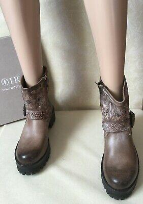 Leather ankle bootsCAFèNOIR Women, taupe color, size 37Tronchetti Donna, pelle