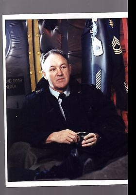 8 X10 COLOR PHOTO-GENE HACKMAN - SUIT