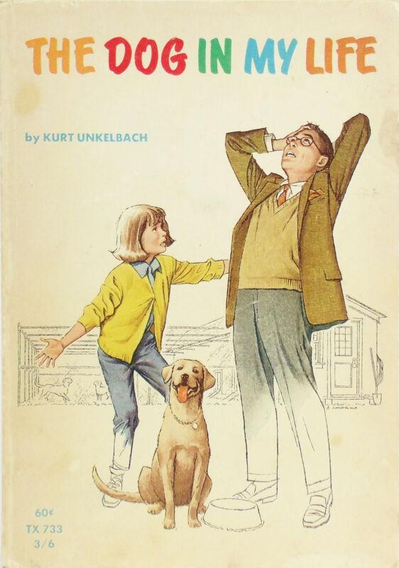 Vintage Pbk Book THE DOG IN MY LIFE Kurt Unkelbach Labrador Retriever
