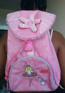 Used once baby pink Sigikid rucksack backpack